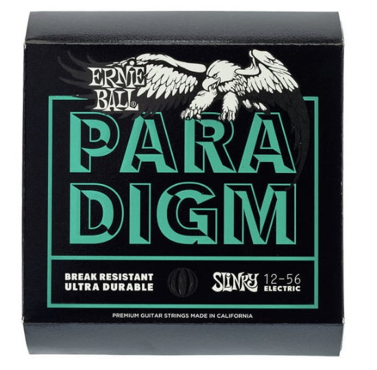 Ernie Ball Paradigm Not Even Slinky 12-56 cuerda de guitarra