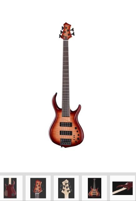 bajo eléctrico Marcus Miller M7 5st BRS para bajistas profesionales