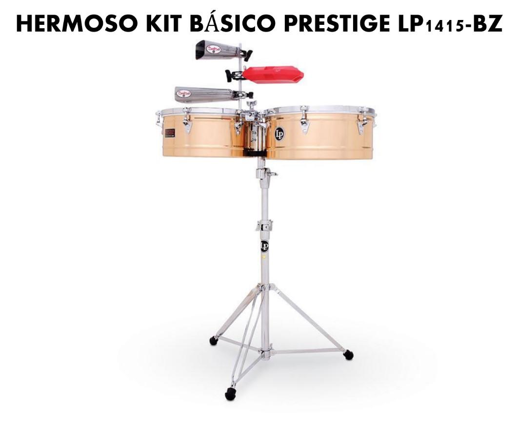 kit básico prestige timbal