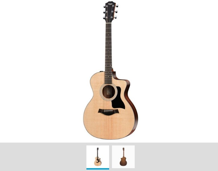 Taylor 114ce Walnut 2017 guitarra