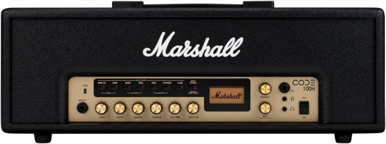 Marshall código 100H–Cabeza amplificador guitarra 100Watts