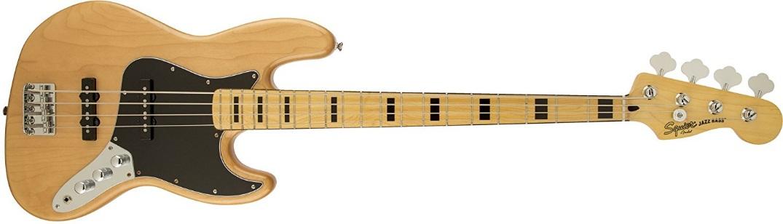 Fender Bajo Squier Vintage Modified Jazz Bass 70s para bajistas intermedios y avanzados