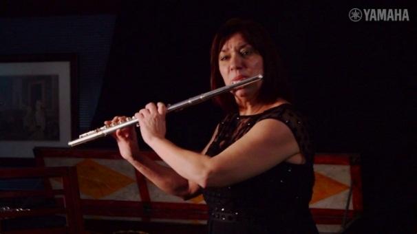 Demostración Flauta Yamahaa