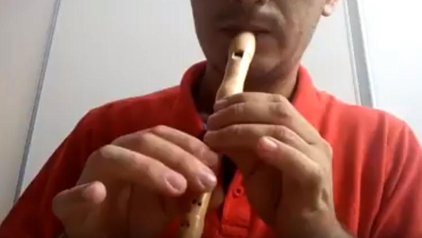 test de flauta tradicional
