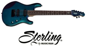 Fotografía Sterling By Music Man Jp Signature In Mystic Dream, 7-String