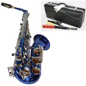 6C ningdeCK Boquilla profesional para saxof/ón 5C//6C//7C//8C con boquilla de tono met/álico con tapa de saxo instrumentos musicales pr/ácticos sonido soprano