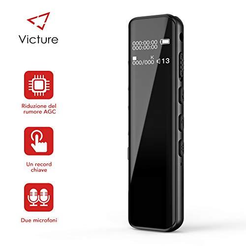 Victure Grabadora de Voz Digital Portátil 8GB