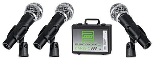 Micrófono cardioide Pronomic DM-58